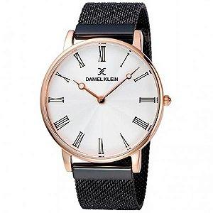 Relógio Masculino Daniel Klein Dk11886-2 - Preto/Dourado