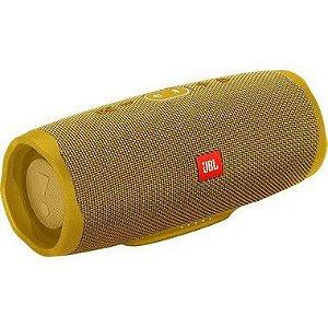 Speaker JBL Charge 4 30 watts RMS com Bluetooth/USB Bateria 7.500 mAh - Amarelo