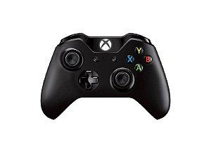 Controle Console Xbox One S Preto Wireless P2