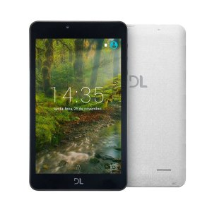 Tablet DL Creative Tela 7'' 8GB WIFI Branco TX380BRA