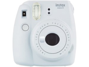 Camera instax mini 9 branco e rosa