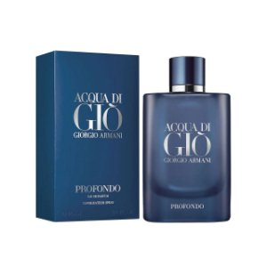 Perfume Masculino Acqua di Giò Profondo Giorgio Armani Eau de Parfum 125ml