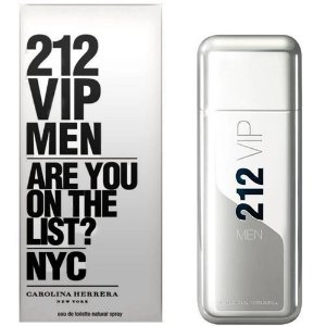 Perfume 212 Vip Men Carolina Herrera 100ml - 200ml