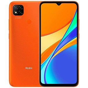 """Smartphone Xiaomi Redmi 9C 32GB, Tela de 6.53"""", 2GB de RAM, Câmera Traseira Tripla, Android 10 e Processador Octa-Core"""