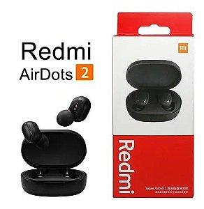 Fone de Ouvido Sem Fio Xiaomi Redmi Airdots 2 com Bluetooth