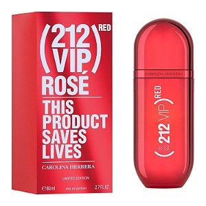 Perfume Feminino 212 VIP Rosé Red Edição Limitada Carolina Herrera Eau de Parfum 80ml