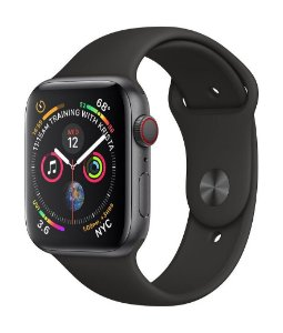 Apple Watch Series 4 44MM GPS Cinza Espacial - Produto de Vitrine