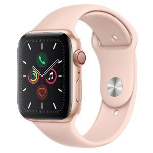 Apple Watch Series 5 GPS, 44 mm, Rose/Gold - Produto de Vitrine