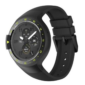 Mobivoi TicWatch S Preto GPS Wifi Android Wear 2.0 Seminovo