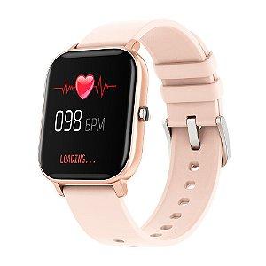 Colmi P8 GTS Salmão Smartwatch Full-Touch
