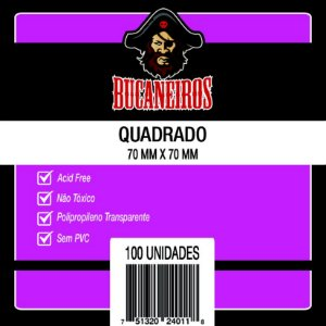 Sleeves Quadrado (70 x 70mm)