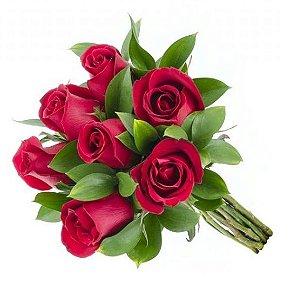 Buquê 7 rosas Vermelhas