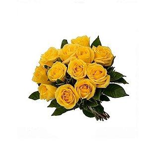 Buquê Rosas Amarelas Tradicional