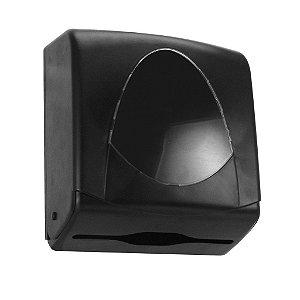 Toalheiro START BLACK p/ Papel Toalha Interfolhas 2 ou 3 Dobras
