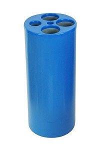 Dispensador de Copos Usados c/ 5 Tubos p/ Copos de Água, Café e Palheta