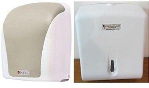 Toalheiro p/ Papel Toalha Interfolhas 2 ou 3 Dobras