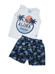 Conjunto Regata Aloha Branco