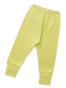 Calça Culote Avulsa-Amarelo