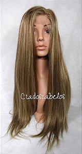Peruca Full lace cabelo Judeu luzes - COD 0580