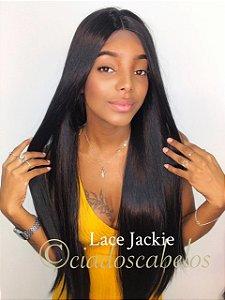 Peruca lace front wig Fibra futura premium Jackie 4x4