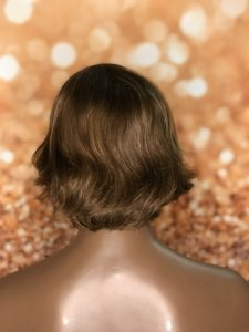 Peruca cabelo humano curta Loiro médio Jessica