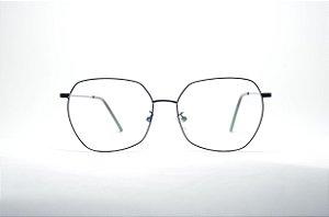 717530d686b28 Óculos grande preto metal modinha fino redondo feminino ou masculino lindo  super na moda corujinha retro