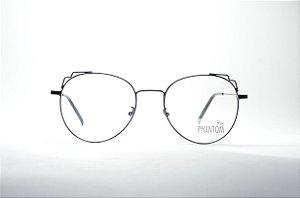 Óculos feminino ou masculino grande metal fino redondo dourado e ... eea29da211