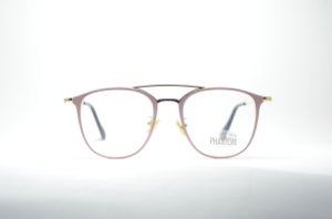 Armação óculos para grau feminino ou masculino dourado corujinha ... de0b00ee3e