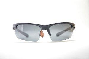 Óculos de sol preto masculino policarbonato proteção UV400 lente espelhada  moda Phantom 7d96ad9204