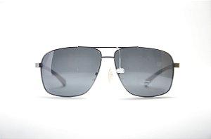 Óculos de sol Berrini masculino redondo metal lente espelhada polarizada  proteção UV400 - RSJ8603 257569d097