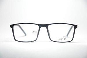 e5a77a60ff073 Armação para grau óculos masculino preto quadrado resistente TR multifocal  qualidade Phantom moda 2019