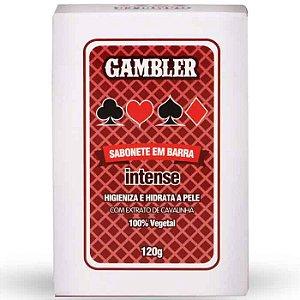 Sabonete Em Barra Intense 120g Gambler
