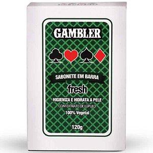 Sabonete em Barra Fresh 120g Gambler