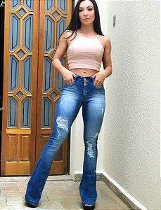 Calça Jeans Flare Calvin