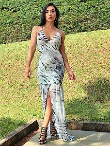 Vestido Sereia Crepe