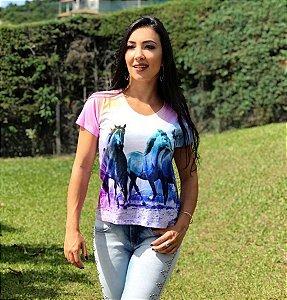 Camiseta Três Cavalos