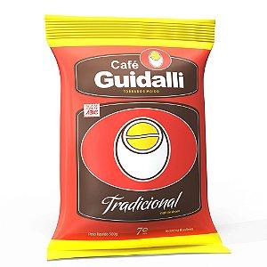 Café Guidalli Tradicional 500g. Preço para pedido de 5 kgs.