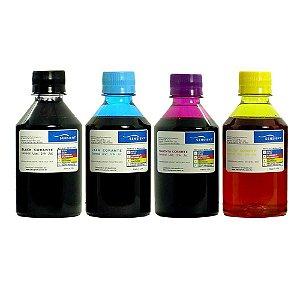 Kit 4 Tintas Compatível com Impressoras DCP T 720w | T 420w | T 520w | T 510w da Brother