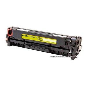 Toner Compatível CM2320 | CP2025 | M375 | M476 | M475 | M451 | M471 - CF383A, CE413A, CC533A - Amarelo