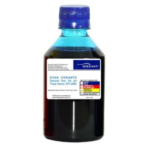 Tinta Sensient Epson Cyan - L800 | L805 | L810 | T50 | R290