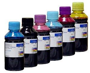 Kit 6 Refis de Tinta Sensient Epson - L800 | L805 | L810 | L850 | L1800 | T50 | R290