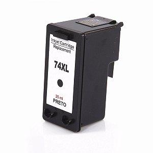 Cartucho de Tinta 74 XL | 74XL Black - Deskjet D4280, C4480, C5280, C5580, D5360