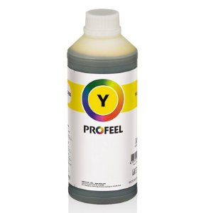 Tinta Profeel Corante HP Yellow - 1 Litro