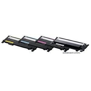 Kit 4 Toner Compatível CLP 365W | CLX3305FW | CLT K406 M406 Y406 C406 - Compatível