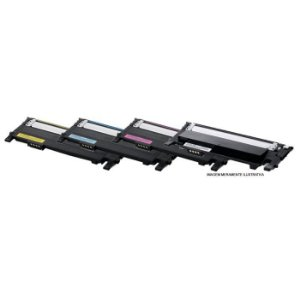 Kit 4 Toner Samsung CLP 365W | CLX3305FW | CLT K406 M406 Y406 C406 - Compatível