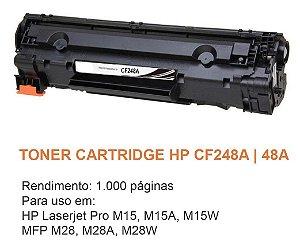 Toner HP CF248A 248A 48A Compatível | M127FN M127 M125 M125A M201 M201DW M225 M225DW M226 M202
