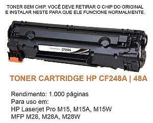 Toner HP CF248A 248A 48A Compatível | M15 M28 M15W M28W - SEM CHIP