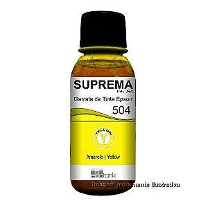 Tinta Epson Suprema Amarelo L4150 L4160 L6191 L6161 L6171 - T 504 T504420AL