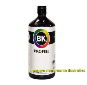 Tinta Profeel Pigmentada HP Black - 500ml