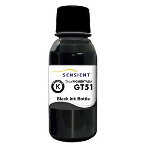 Tinta HP GT51 Black Pigmentada para HP Ink Tank 116 | 316 | 412 | 416 | GT 5822 - Sensient
